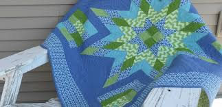 Quilt Patterns Using GO! Strip Cutter Dies | AccuQuilt : AccuQuilt & Kay Gentry Strip Star 2 resized Adamdwight.com