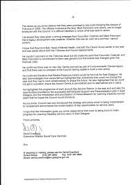 care of letter east carers open letter to gordon matheson