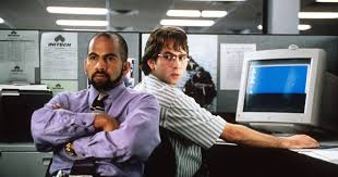 office space image. versus working at an office space image