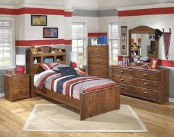 Bookcase Bedroom Furniture Signature Design By Ashley Barchan Twin Bookcase Bed With Underbed