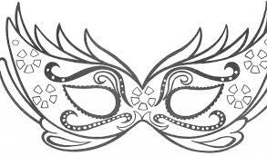 Disegni Da Stampare E Colorare Gratis Con Disegni Di Carnevale Da