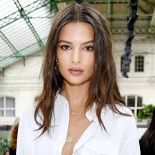 Female Hairstyles 1 Best Emily Ratajkowski Wears A Blonde Ombre Lob Wig InStyle