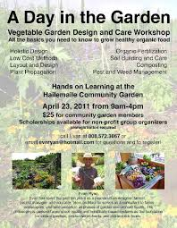 Small Picture Vegetable Garden Design and Care Workshop