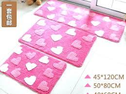 pink bath rugs bathroom large size of light