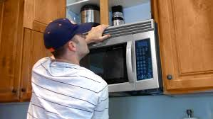microwave oven installation.  Oven One Man Microwave Oven Installation In Installation YouTube