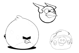 Small Picture Angry Birds coloring pages overview with crazy cool birds