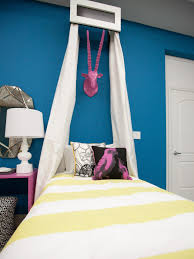 Peaceful Bedroom Decorating Blue Photos Hgtv Peaceful Bedroom Sitting Area With Striped Drapes