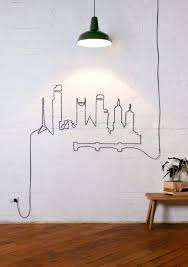 hide wires on wall cords mounted tv
