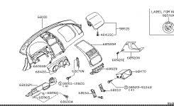 factory parts diagram rear seat area for 98 fe ducati ms in
