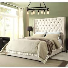 Tufting Headboard Tall Tufted Bed