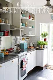 Open Shelving Kitchen Tips For Open Shelving In The Kitchen And Home And Interior
