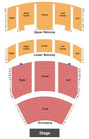 Heritage Theatre At Dow Event Center Seating Chart Saginaw