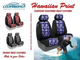 coverking hawaiian print custom tailored front seat covers for jeep wrangler