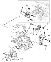 Engine wiring engine mount wiring diagram for dodge caravan 3 3