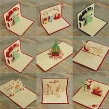 3d cards xmas greeting cards creative diy hollow out handmade paper tree card factory b47 ing gift cards gift