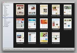 Mac Brochure Templates Various High Professional Templates