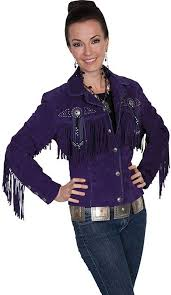 scully scully western jacket womens leather beaded fringe fitted l152 com