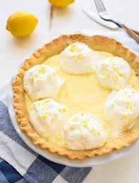 Best Pie Recipes Grammys Lemon Cream Pie