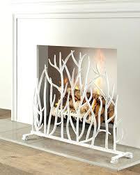 decorative fireplace screens inside wooden fire uk decor 14