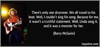 Christian Drummer Quotes Best of There's Only One Drummer We All Travel To His Beat Well I Couldn
