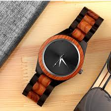 luxury wood wrist watch unique wooden watches men s watch men watch clock reloj hombre madera erkek kol saati relogio masculino s914