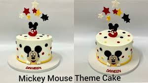 tutorial for mickey mouse theme accents