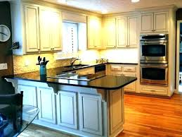 refinish kitchen cabinets cost refinishing kitchen cabinets cost paint to of spray estimated cost refacing kitchen
