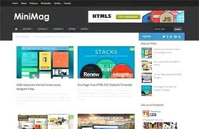 Free Download News Magazine Blogger Template Newspaper Times