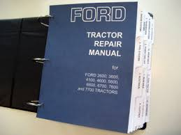 ford tractor 2600 3600 4100 4600 5600 5900 6600 7600 service this isn t a cheap comb bound photocopy this is a brand new reprint and includes all volumes this isn t a partial service manual it is complete