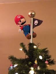 Single Nintendo Super Mario Bros Perler Bead ChristmasSuper Mario Christmas Tree