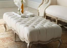 Furniture: Oversized Ottoman Coffee Table Ottoman Footstool