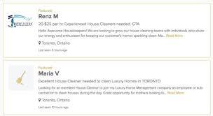 Cleaning Homes Jobs Housekeeping Jobs In Toronto On Housekeeper Com Appjobs