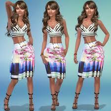 Keisha Strauss - The Sims 4 Catalog