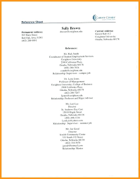 How To Create A Reference Page For A Resumes Example Reference Page For Resume Wikirian Com