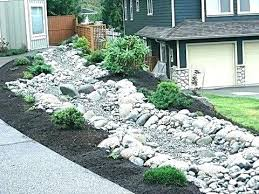 river rock garden bed river rock bed landscaping river rock garden best  landscaping river rock landscaping