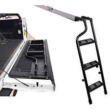 Amazon.com: AA Products Pickup Truck Tailgate Step Ladder Fits 2014 ...