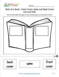 parts of a book front back cover spine cut glue a wellspring