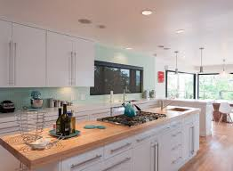 Two-Tone Kitchen Countertops. Collect this idea 4 two tone bright