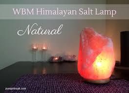Wbm Salt Lamp Enchanting WBM Himalayan Salt Lamp Natural Pure Pink Salt