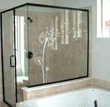 frosted glass decals frosted glass shower door furniture decorative etched glass windows