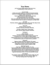 bad resume format example of a bad resume under fontanacountryinn com
