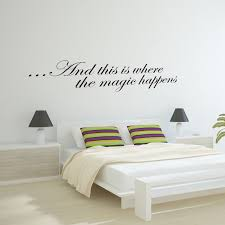 this is where the magic happens wall sticker decal