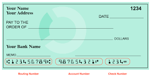 how do i find my routing number