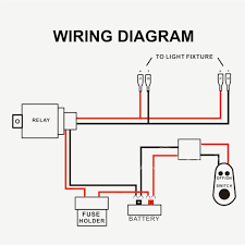 two way wiring diagram auto electrical wiring diagram amazon com epauto led light bar wiring harness kit 12v 40a