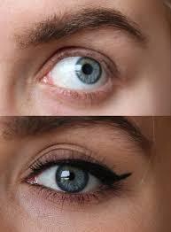 eye makeup for no eyelashes