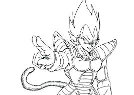 Coloring Pages Pics Of Surprising Super 3 Vegeta Page Scihostco