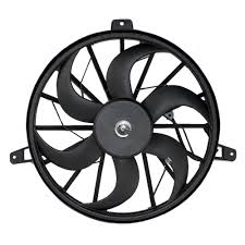 Radiator cooling fan blade with motor replacement for jeep suv 52079528ab
