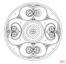 2 Celtic Mandalas For You To Color From Printable Coloring Pagesl