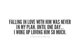 Falling In Love Quotes Enchanting Love Quotes Pics €�Falling In Love With Him Was Never In My Plan