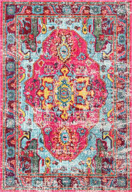 colorful rugs. Add A Pop Of Statement Color To Your Home With One These Gorgeous, Bold Colorful Rugs I